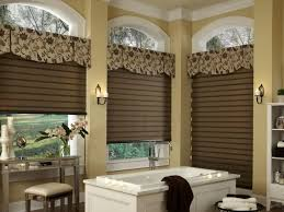 bathroom window covering ideas classic window valances for luxury bathroom idea cool window