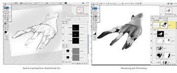 how to start digital sketching material and software