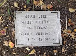 gravestone maker diy pet tombstone memorial 5 steps with pictures