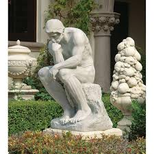 statues for sale design toscano the thinker garden statue outdoor