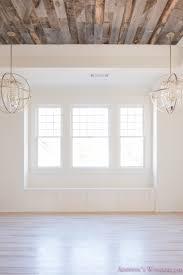 alabaster walls bedroom stikwood weathered wood ceiling shaw