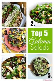 best autumn salads thanksgiving sides october recipe recap and