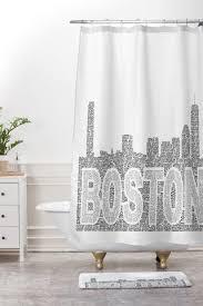 Skyline Shower Curtain Restudio Designs Shower Curtains Deny Designs