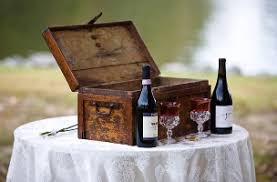 wine box wedding ceremony wine box ceremony with letters great element to add to your