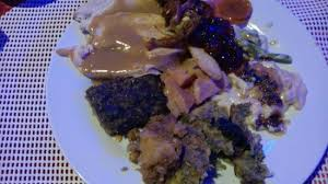 complete turkey dinner complete turkey dinner picture of ric s kountry kitchen