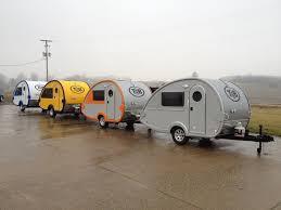 the lure of retro teardrop campers free range