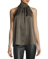 sleeveless tie neck blouse sleeveless tie neck blouse neiman