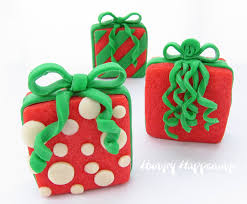 Present Decoration Filled Present Cookies Hungry Happenings
