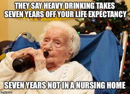 Nursing Home Meme - though dark her logic is sound imgflip