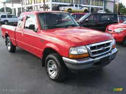 Ford Ranger Truck Colors - 1998 bright red ford ranger xlt extended cab 39740925 gtcarlot