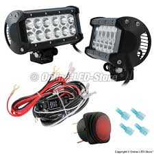 Discount Led Light Bars by Led Snow Plow Lights Snow Plow Headlights Online Led Store