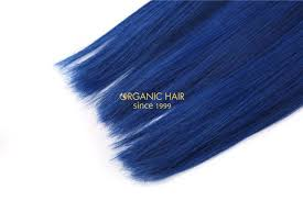 blue hair extensions colored hair extensions blue hair extensions china oem colored