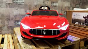 maserati alfieri red kiddy cars kiddy cars