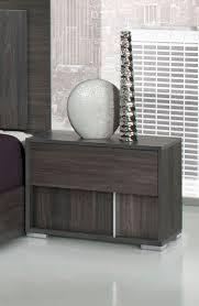 Italian Modern Bedroom Furniture by Modrest Luca Italian Modern Grey Bedroom Set