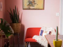 pretty in pink dining room makeover u2014 probably this