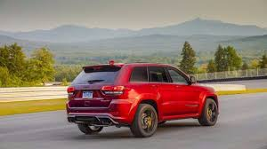 jeep hellcat truck driving the 707 horsepower jeep grand cherokee trackhawk in a word
