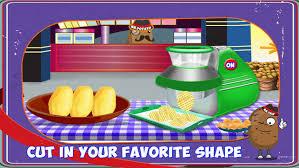jeux de cuisine frite frites maker français frites cuisine jeu de cuisine dans l