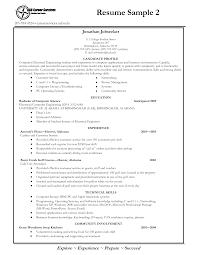 student biodata sample college grads how your resume should look