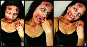 walking dead zombie makeup youtube