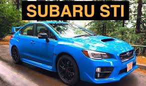 subaru rice 2016 subaru wrx sti series hyperblue review u0026 test drive youtube
