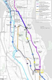 Seattle Map Downtown by Route 42 Back From The Dead
