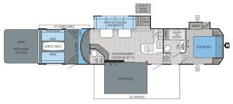 keystone travel trailer floor plans 2016 seismic wave toy hauler floorplans u0026 prices jayco inc