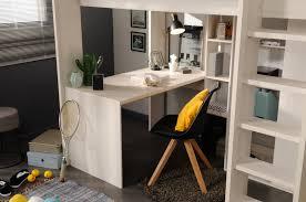 U Schreibtisch 90x200 Hochbett Inkl Integrierter Schreibtisch U Schrank Higher 1b