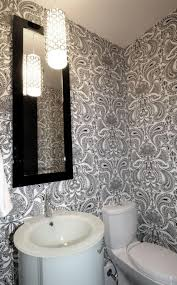 Wallpaper For Small Bathroom - Designer bathroom wallpaper