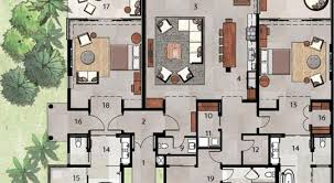 11 villa floor plans with measurements floorplan villa bali