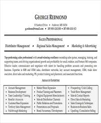 Sales Resume Example by 50 Business Resume Examples Free U0026 Premium Templates