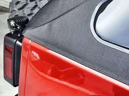 rigid industries backup light kit 2007 2017 jeep jk driver side tail light mount black rigid