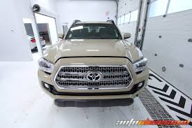 toyota car detailing auto obsessed new vehicle prep detail 2017 toyota tacoma trd