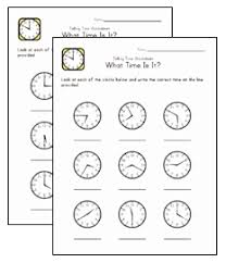 what time is it worksheets μαθαινω την ωρα pinterest