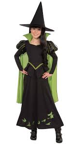 Halloween Costumes Girls Kids Wizard Oz Wicked Witch West Child U0027s Costume Book