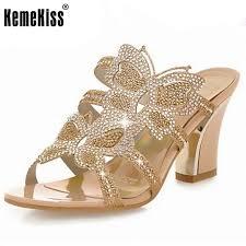 Rhinestone Sandal Heels Online Get Cheap Rhinestone Sandal Heels Aliexpress Com Alibaba