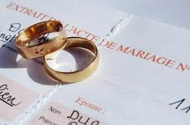 acte de mariage en ligne gratuit mariages