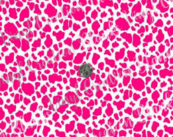 cow print wrapping paper pink cow etsy