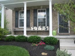house measurements planting ideas for front porch