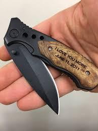 wedding gift knives i you more engraved pocket knife gift for boyfriend