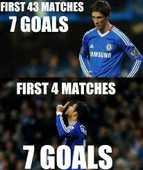 Fernando Torres Meme - faisal on twitter footy jokes the difference between diego