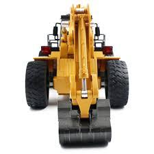 1 18 6ch rc excavator remote control construction bulldozer digger