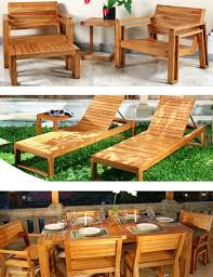 Building Outdoor Wooden Furniture by 105 Best Outdoor Wood Furniture Images On Pinterest Outdoor