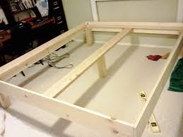 How To Build A Cal King Platform Bed Frame by 25 Best California King Bed Frame Ideas On Pinterest Queen Size