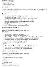 Sample Cna Resume With No Experience by Pleasing Cna Resume No Experience Interesting Resume Cv Cover Letter
