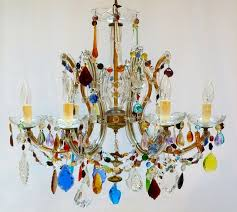 Multi Coloured Chandeliers The Vintage Chandelier Companymulti Coloured Archives Page 2 Of