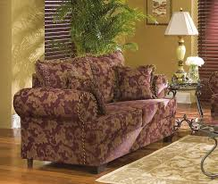 colored fabric contemporary living room w contrasting welt