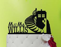 dr who cake topper wedding cake topper tardis tardis cake topper doctor who