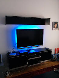 Ikea Tv Furniture Floating Ikea Tv Bench Besta Burs Model Thanks To R Diy D