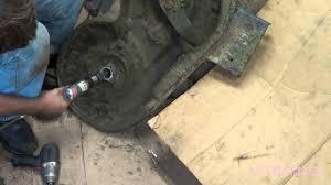 mower deck spindle bearings youtube