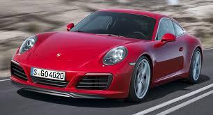 porsche 2016 2016 porsche 911 carrera carrera s facelift revealed
